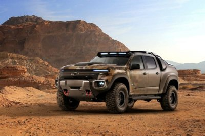 Chevy Colorado Zh2 >> Chevrolet Colorado ZH2 full-cell tested by 25th U.S
