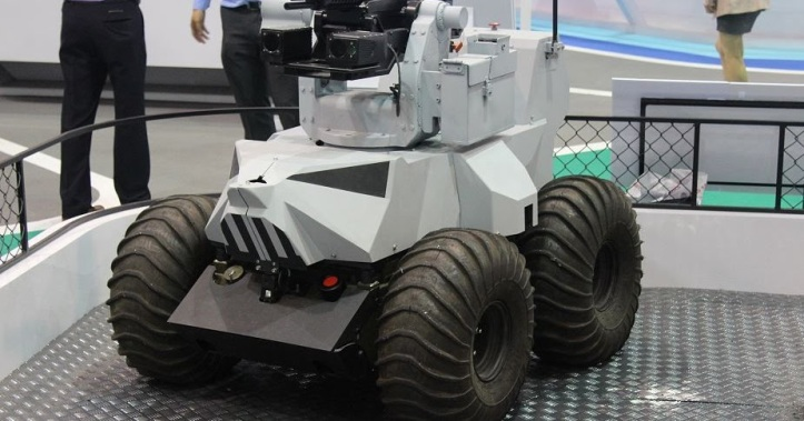 ST Kinetics unveils new weaponised Probot UGV Unmanned